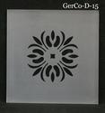 GerCo model D 15 x15 cm 1 stuk